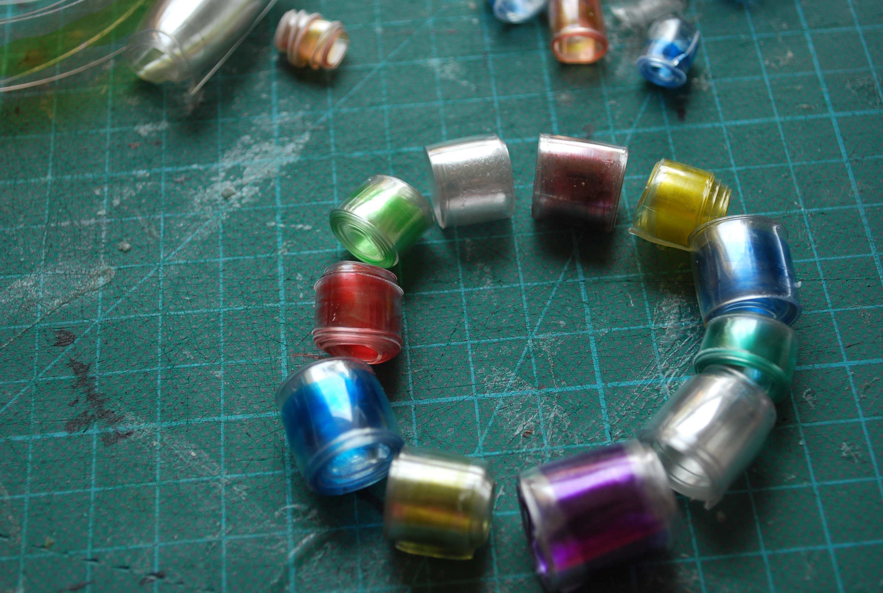 Making Recycled Bottle Beads |