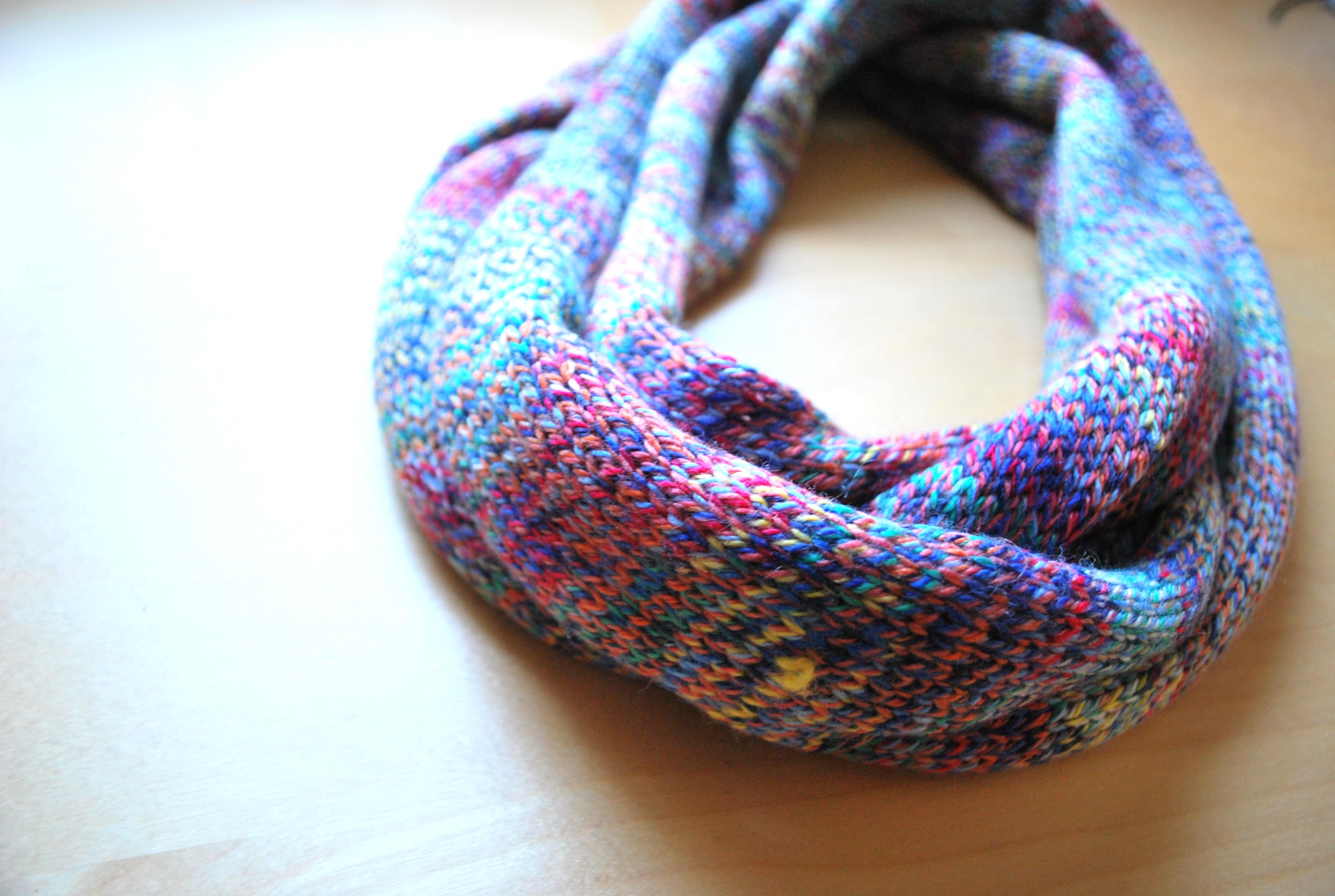 Rainbow Cowl Knitting Pattern : Knitting Page 2